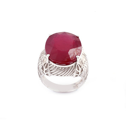 Ruby Designer Ring