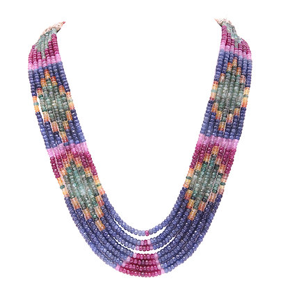 Important Precious Sapphires Necklace