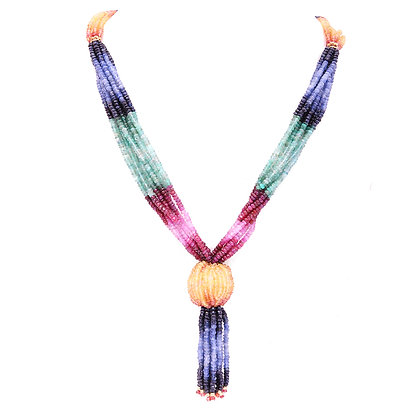 Mutli Sapphire Necklace