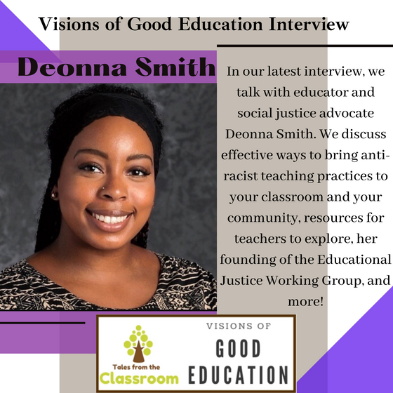 Visions of Good Education: Deonna Smith