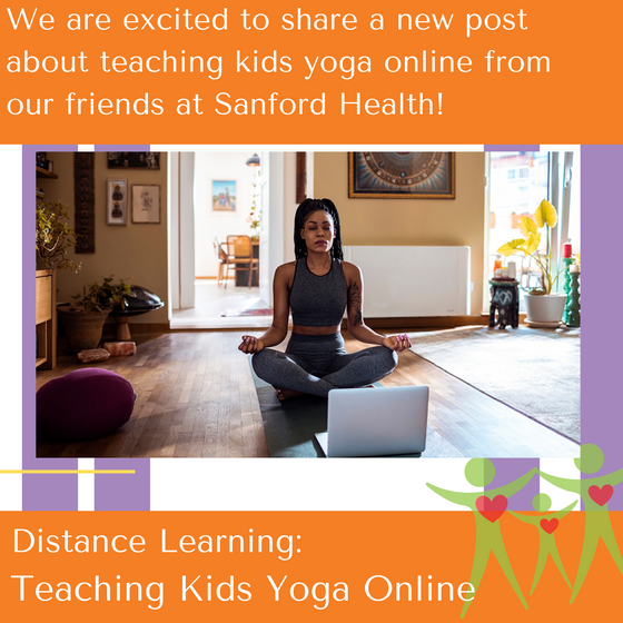 Distance Learning: Teaching Kids Yoga Online