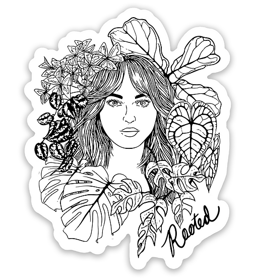 Rooted Sticker