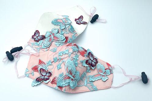 Set masti protectie din dantela 3D cu filtru, Forever Lace