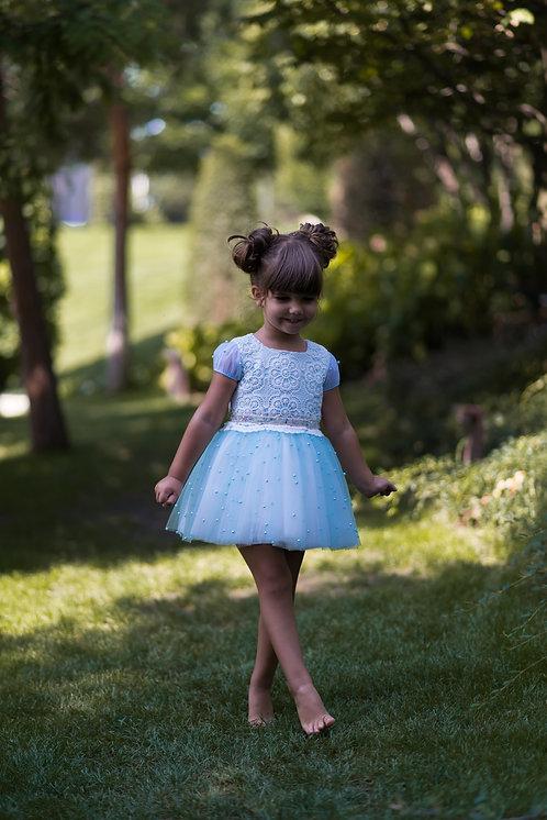 Rochie fetite pentru botez sau aniversare WonderLand