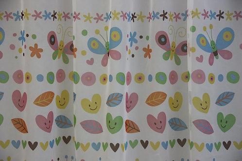 Perdea camera fetite Butterflies