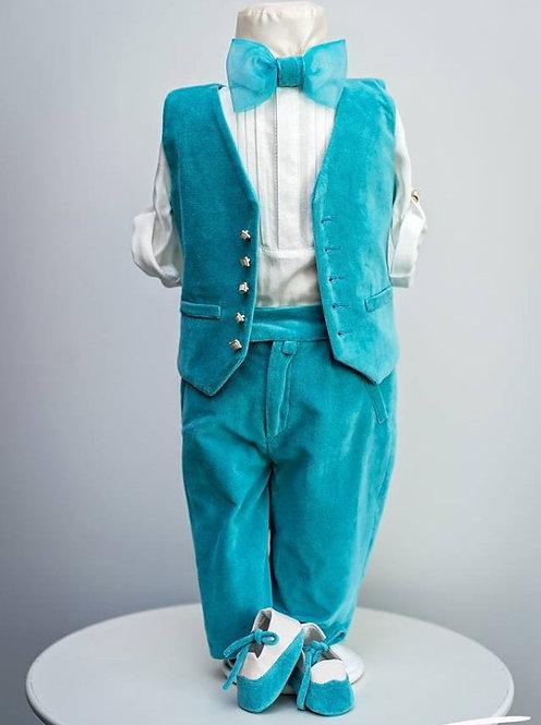 Costumas botez Blue Aqua