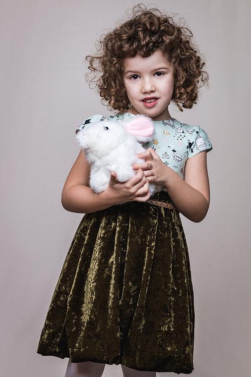 Rochie din catifea My Wonderland