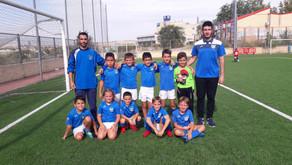 Benjamín 2011 B 2 - 6 Rivas FC