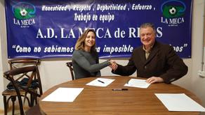 Comunidad Colchonera - Nuevo patrocinador de La Meca de Rivas