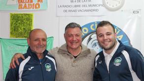 Entrevista a Fernando Montes, Julián Merino y Pablo González en Radio Cigüeña