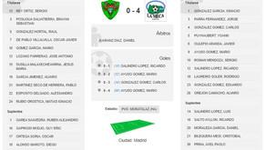 EMF Águilas de Moratalaz B 0 - 4 Aficionado Masculino