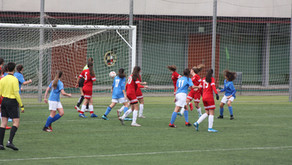 CD Ciudad del Fútbol 2-1 Cadete Femenino
