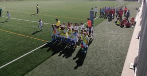 Academia NAF San Gabriel 1 - 2 Alevín femenino