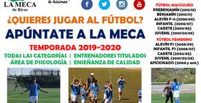 La Meca de Rivas sigue buscando jugadores (sobre todo nacidos en 2013)