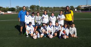 Alevín Femenino 2 - 6 CD Ciudad del Fútbol
