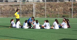 Madrid Sur Latina 1 - 9 Cadete Femenino