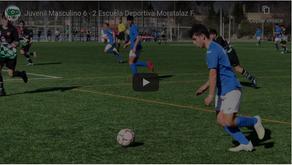 Juvenil Masculino 6 - 2 Escuela Deportiva Moratalaz F