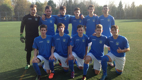 """Escuela de Fútbol de Rivas """"A"""" 1 - 2 Juvenil"""