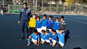 """Pre-benjamín 08 C 2-2 Escuela de Fútbol de Rivas """"A"""""""