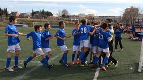 """El Infantil """"B"""" afronta su primera final por el ascenso frente a la Escuela de Fútbol de A"""