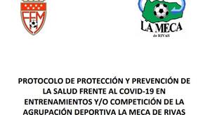 La Meca de Rivas anuncia la vuelta a los entrenamientos de sus equipos federados