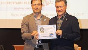 Somos terceros en el VI Premio a la deportividad de Radio Cigüeña