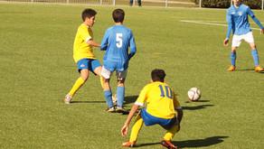 Cadete A 10 – 0 Juventud Sanse D