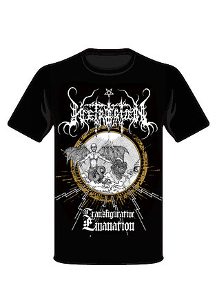 Transfigurative Emmanation T-shirt (black)