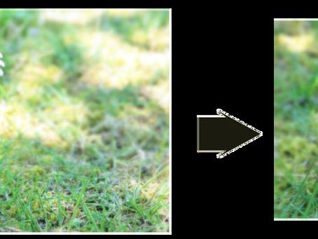 画像サイズの変更について