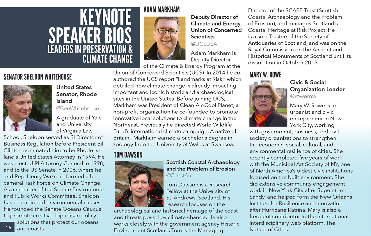 Showcasing Keynotes