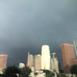 LA in a blur