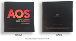HAND-HELD CONFERENCE BOOK