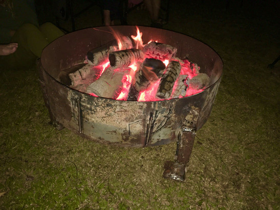 Nights with friends around the camp fire