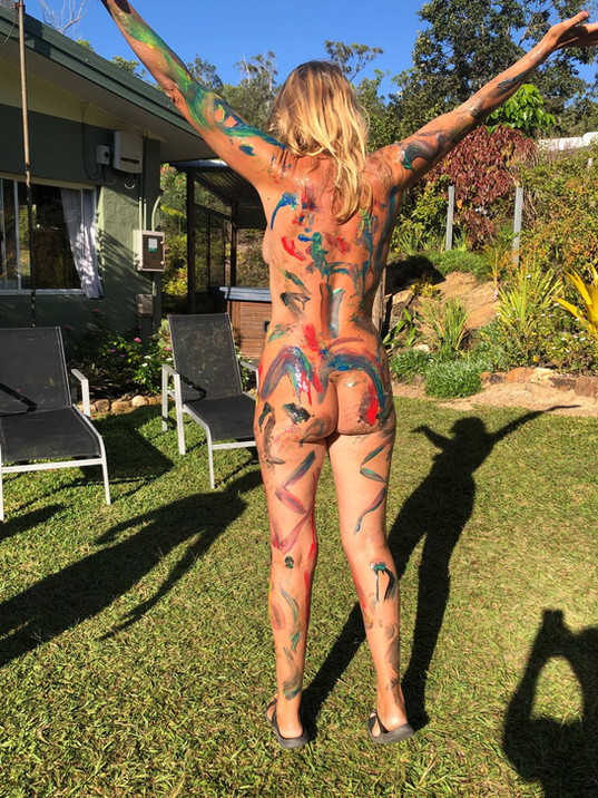 Fun with Body Paint