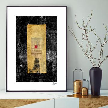 Fine art giclee print in original Hahnemühle fine art paper
