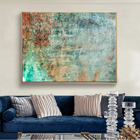 Printable painting reproduction of large original acrylic painting