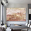 """Thumbnail: """"Sei sempre stato tu"""" Oversized abstract contemporary painting highly textured"""