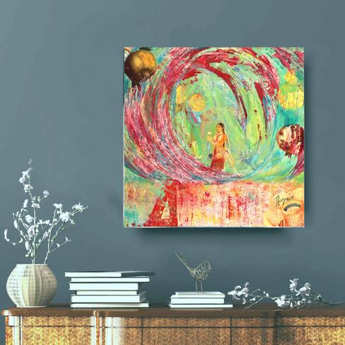 Canvas print 40x40 cm