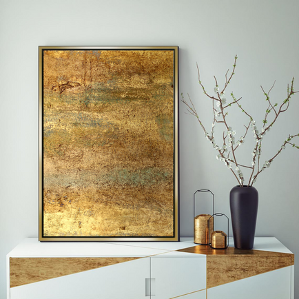 Original acrylic painting on canvas board
