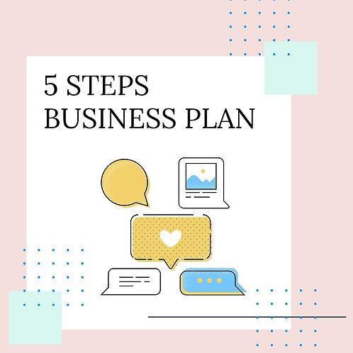 5 STEPS BUSINESS PLAN