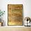 gold wall art canvas painting artwork interior design