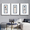 """Thumbnail: """"Shinto"""" Set of 3 fine art giclee prints, abstract Japanese inspired designs"""