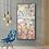 "Thumbnail: ""Akrotiri"" Large abstract painting of Akrotiri frescoes, Santorini"