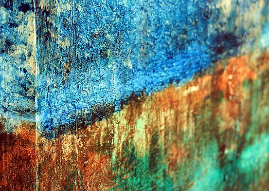 Ifigenia-abstract-acrylic-painting-blue-