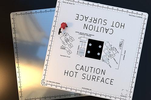 Cetus 3D MK1/2 aluminium heatbed