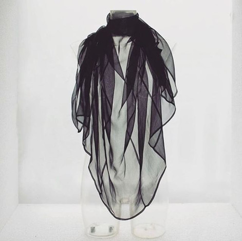 Zero-waste Fairtrade silk scarf
