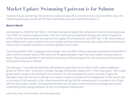 Market Update: Swimming Upstream is for Salmon