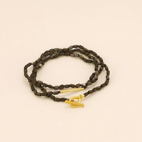 Perlmutkette & Perlmutarmband in Einem