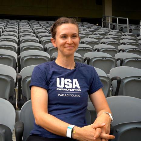 Samantha Bosco, Paralympic Cyclist
