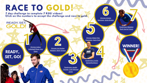 RSG's challenge: Race to gold!